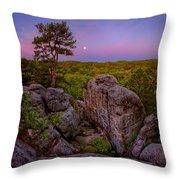 Dome Rock Throw Pillow