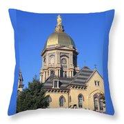 Dome Under An Autumn Sky Throw Pillow