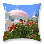 Domes Of Seven Apostles Throw Pillow