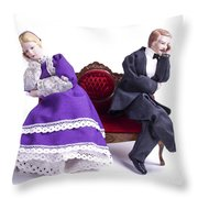 Domestic Bliss Throw Pillow by Diane Diederich
