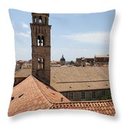 Dominican Monastery Throw Pillow