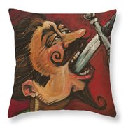 Dominick The Daring Throw Pillow