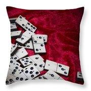 Dominoes Throw Pillow