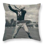 Don Hutson Poster Throw Pillow