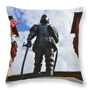 Don Pedro Menendez De Aviles Throw Pillow