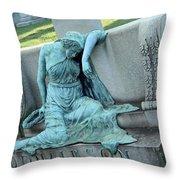 Donaldson's Grief Throw Pillow