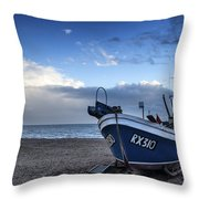 Done For The Day Throw Pillow by Matthew Gibson