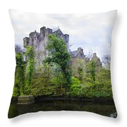 Donegal Castle In Donegaltown Ireland Throw Pillow