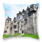 Donegal Castle - Ireland Throw Pillow