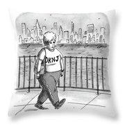 Donna Karan's Nightmare Throw Pillow