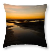 Donna Nook Dawn Throw Pillow