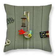 Donna's Message To America Throw Pillow