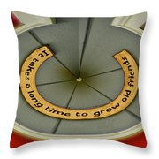 Donna's Message To Us Throw Pillow