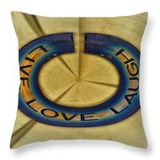Donna's Message To You Throw Pillow