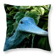 Donna's Quack Throw Pillow