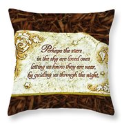 Donna's Special Message Throw Pillow