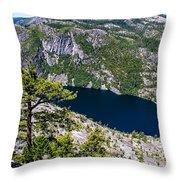 Donnel Lake  Throw Pillow