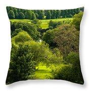 Donnington Grove Newbury Throw Pillow