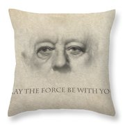 Dont Be Afraid Of The Dark Side Throw Pillow