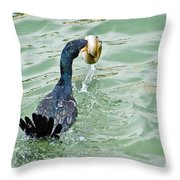 Don't Ever Give Up Throw Pillow