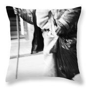 Dont Fall Down  Throw Pillow