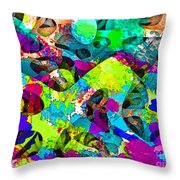 Dont Fall On The Road 3d Abstract I Throw Pillow
