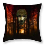 Don't Get Lost Throw Pillow by EricaMaxine  Price