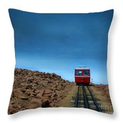 Don't Know When I'll Be Back Again Throw Pillow