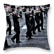 Don't Let The Parade Pass You By Throw Pillow