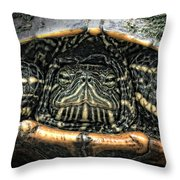 Don't Rock My House - Turtle Throw Pillow