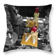 Don't Show Mom Throw Pillow