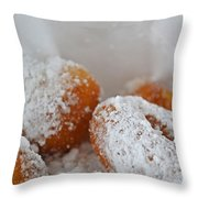 Donut Nirvana Throw Pillow