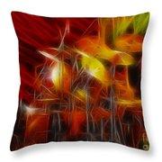 Doobies-93-keith-gg4-fractal Throw Pillow