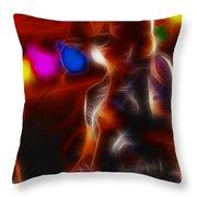 Doobies-93-tom-gc16a-fractal Throw Pillow