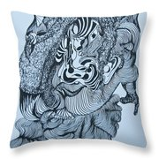 Doodle - 04 Throw Pillow