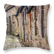 Doon A Scottish Wynd Throw Pillow