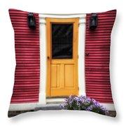Door 11 Throw Pillow
