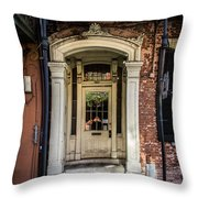 Door 934 Throw Pillow