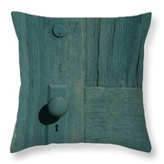 Door Amargosa Opera House Death Valley Img 0028 Throw Pillow