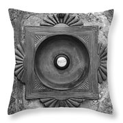 Door Bell Throw Pillow