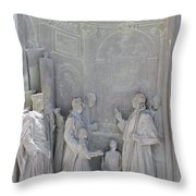 Door Detail Cathedral Siena Throw Pillow