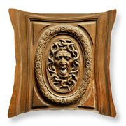 Door Detail Throw Pillow