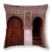 Door Of The Court Of The Myrtles 2 Throw Pillow