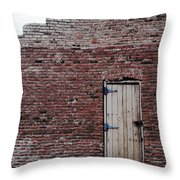 Door To Outside  Throw Pillow
