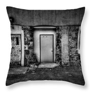 Doors And Vents Throw Pillow