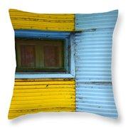 Doors And Windows Buenos Aires 15 Throw Pillow