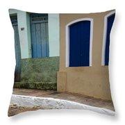 Doors And Windows Lencois Brazil 3 Throw Pillow