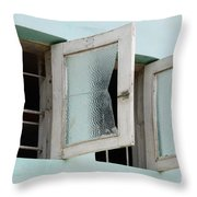Doors And Windows Lencois Brazil 5 Throw Pillow