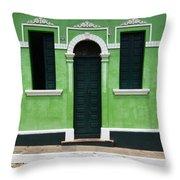 Doors And Wndows Lencois Brazil 7 Throw Pillow