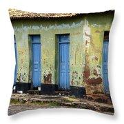 Doors Of Alcantara Brazil 4 Throw Pillow